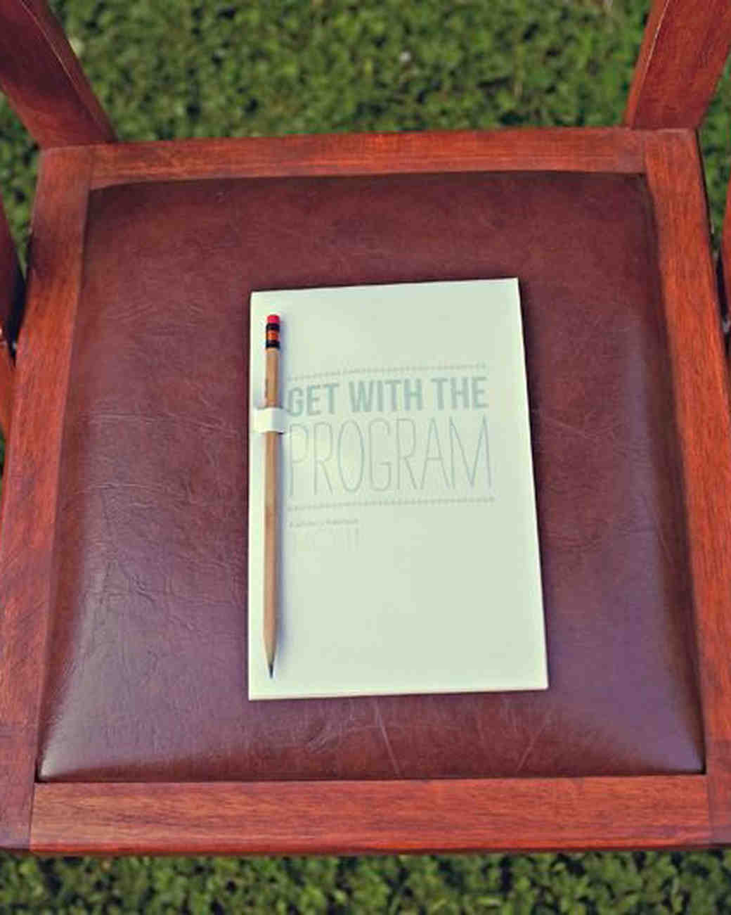 Unique Wedding Ceremony Programs | Martha Stewart Weddings