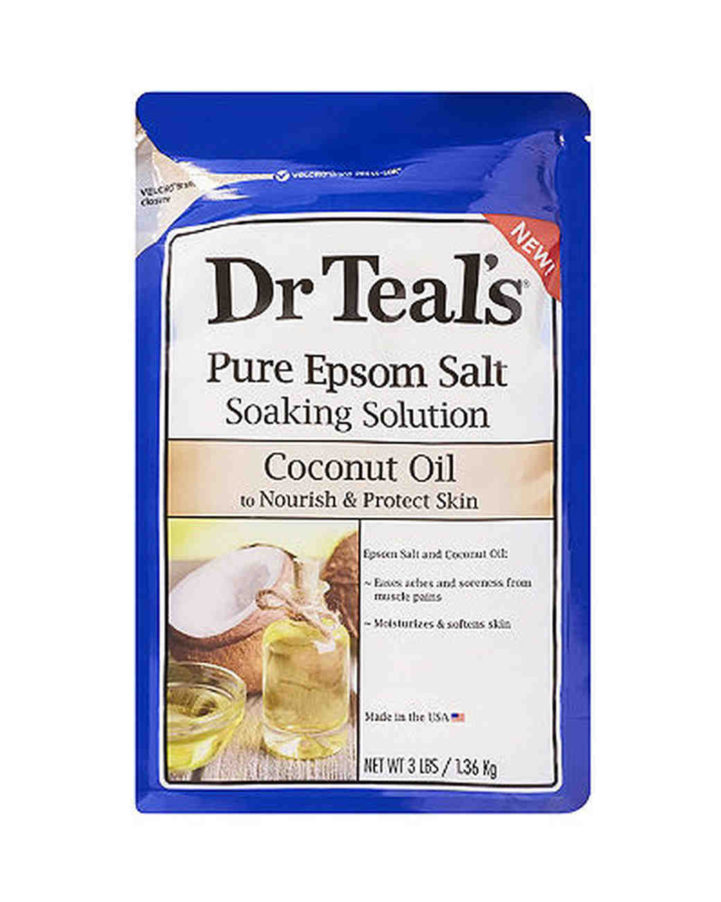 bath salts dr. teal coconut