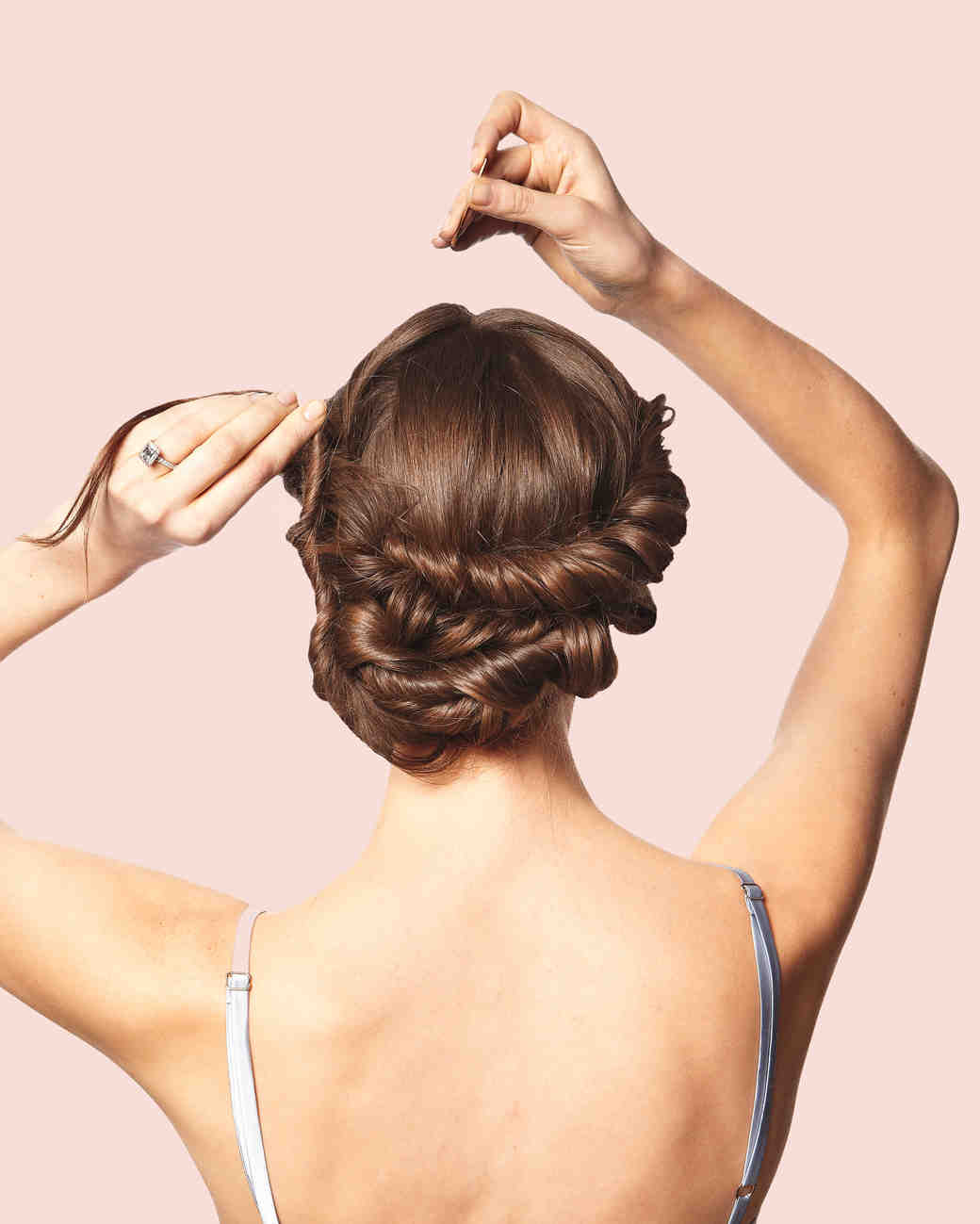 Diy wedding updos martha stewart weddings pmusecretfo Gallery