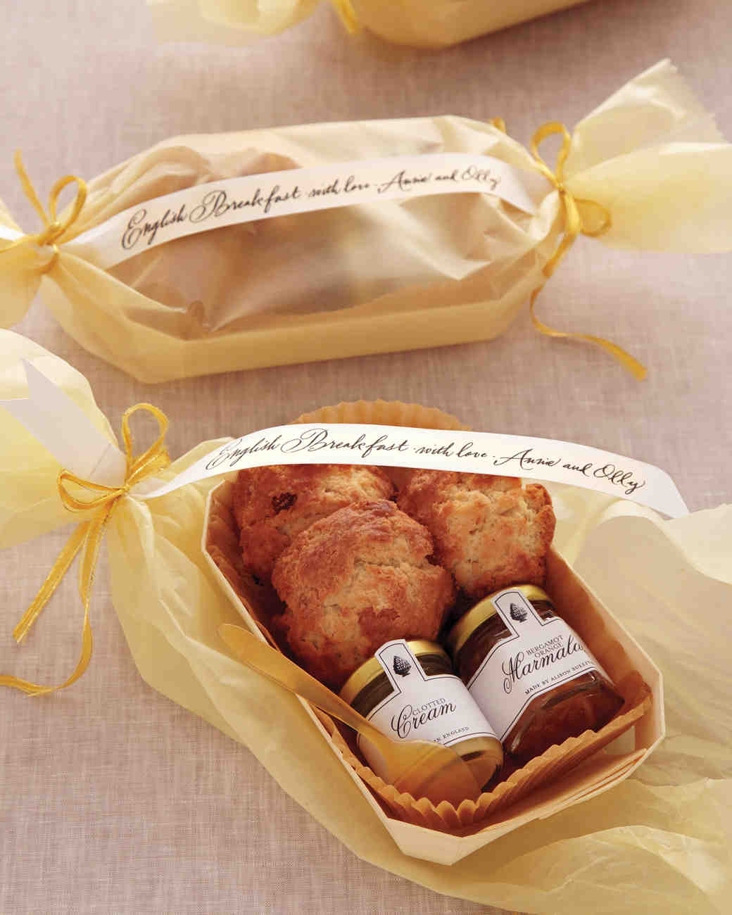 English Breakfast Favors