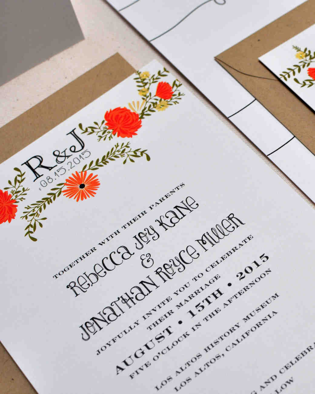 8 details to include when wording your wedding invitation martha 8 details to include when wording your wedding invitation martha stewart weddings junglespirit Choice Image
