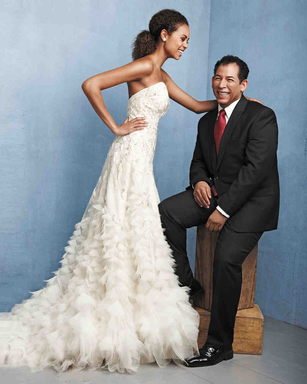 Iconic Wedding-Dress Designers | Martha Stewart Weddings