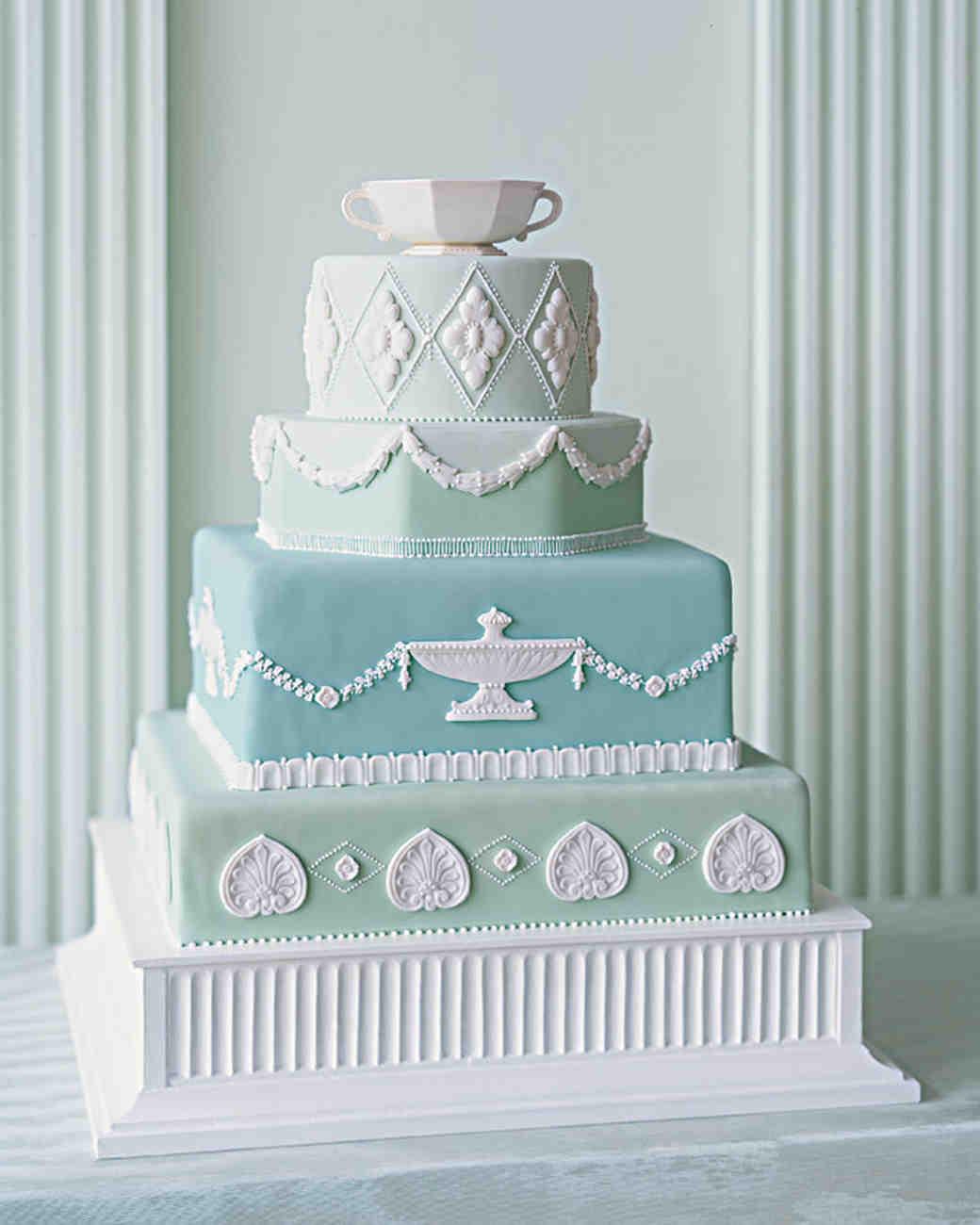 Mint Cake Assembly