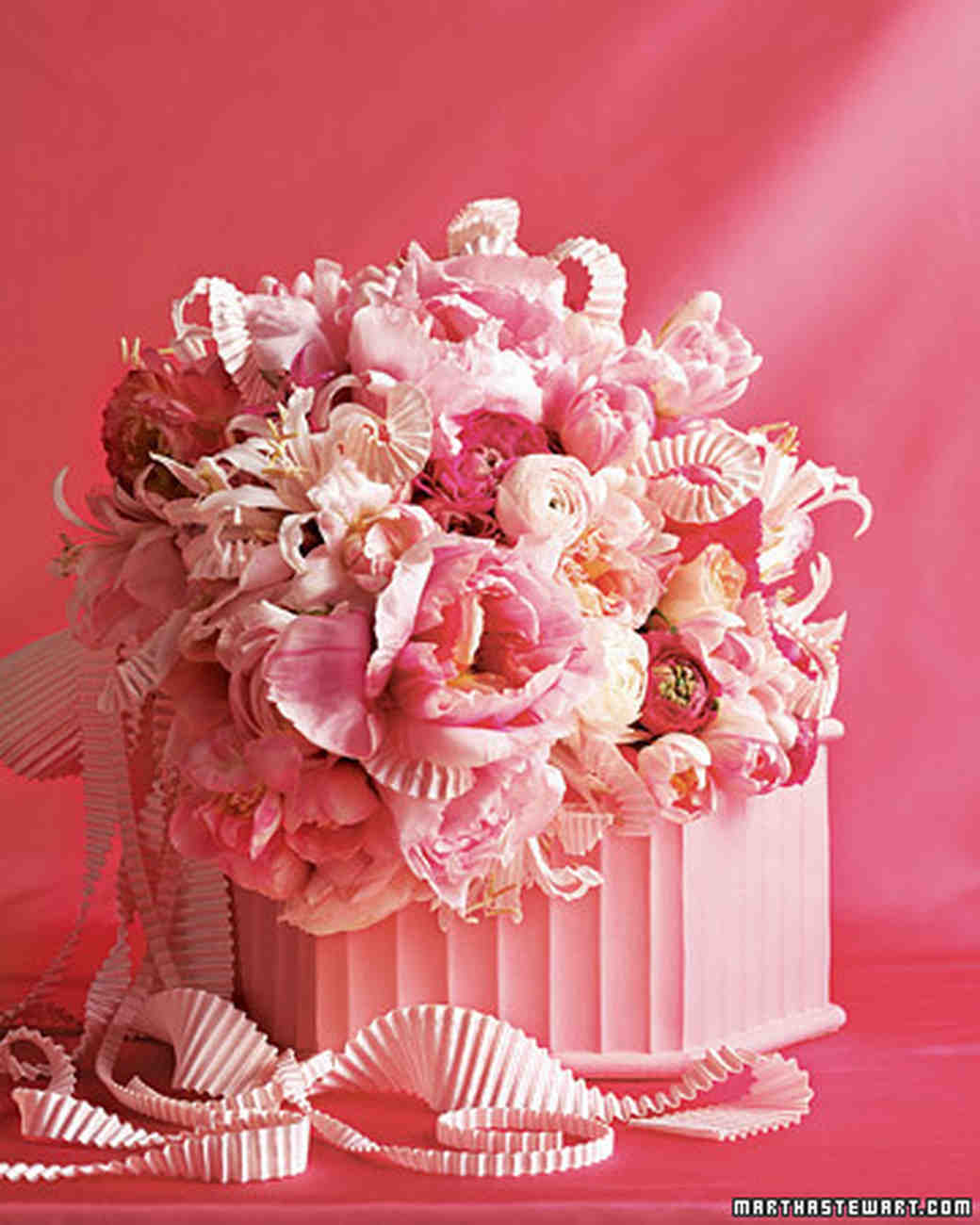 Pink Wedding Flowers Martha Stewart Weddings