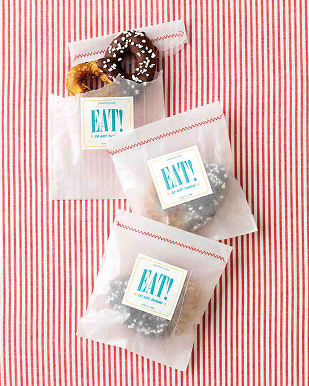 Tag and Label Templates for Wedding Favors | Martha Stewart Weddings