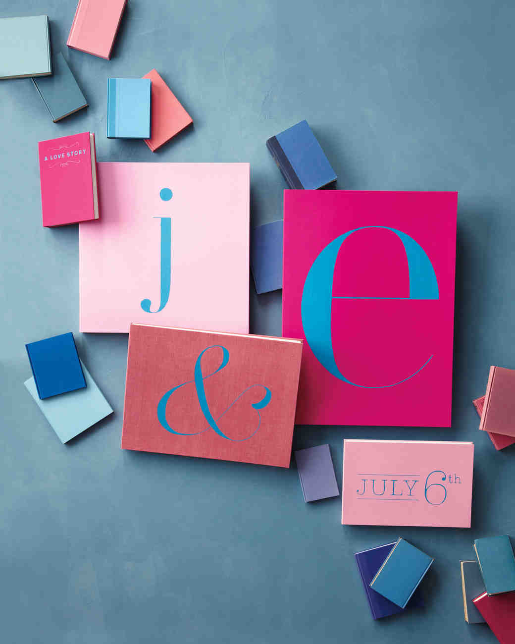 A Whimsical Pink-and-Blue Wedding in New York City | Martha Stewart ...