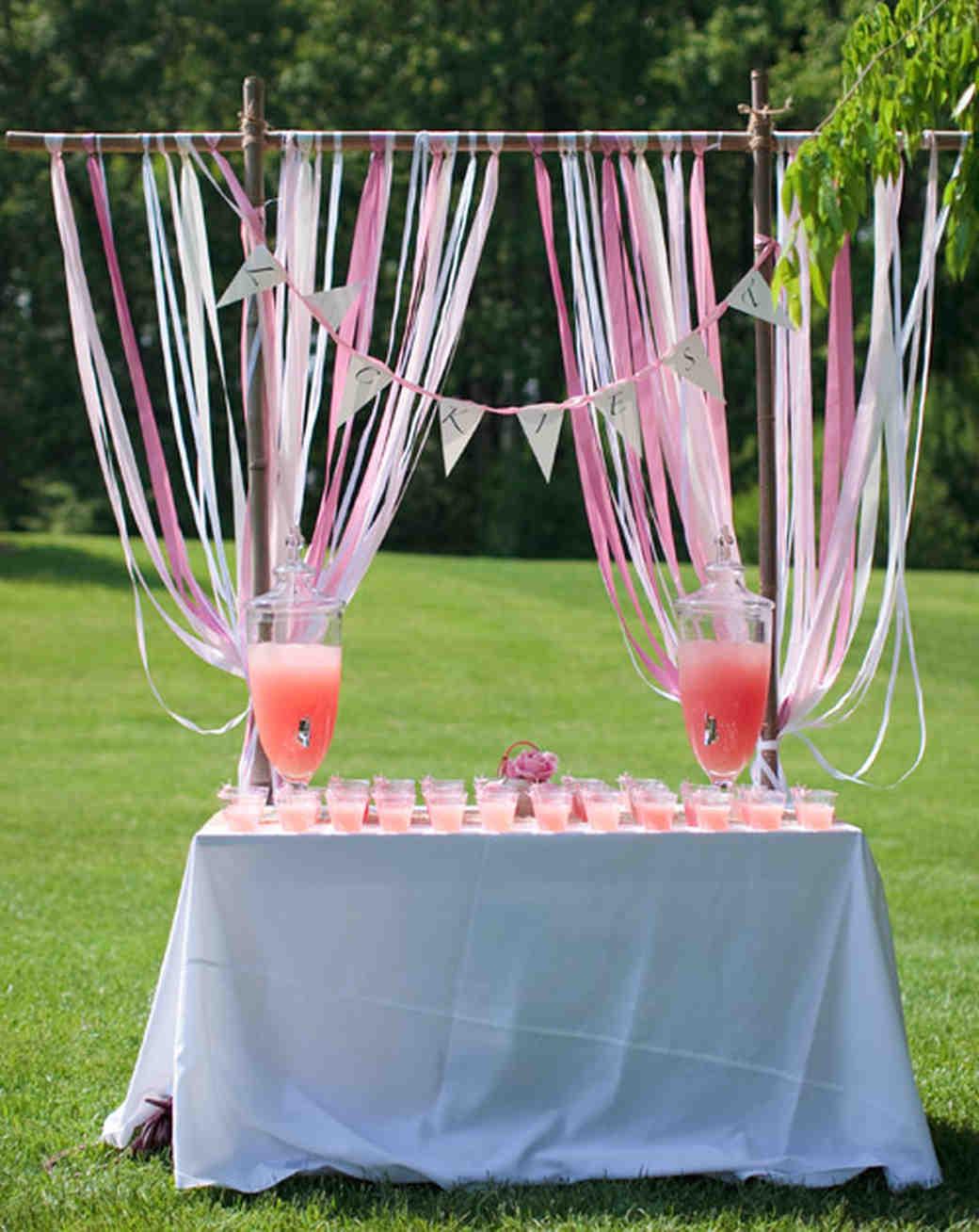 Summer wedding ceremony ideas martha stewart weddings drinks in the park junglespirit Gallery