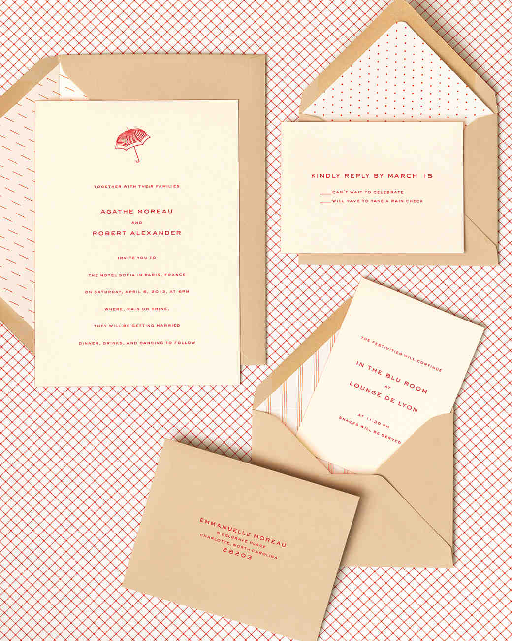 Superieur Cheeky Envelope Liners