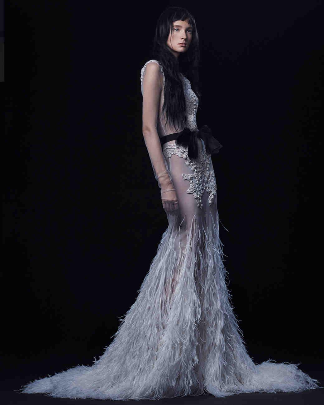 Vera Wang Black Wedding Gowns