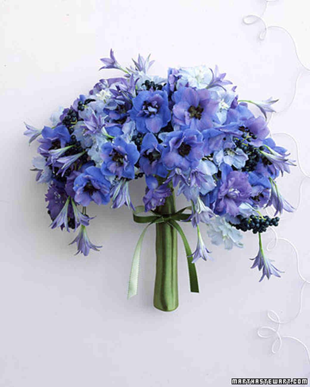 Blue Purple Bouquets