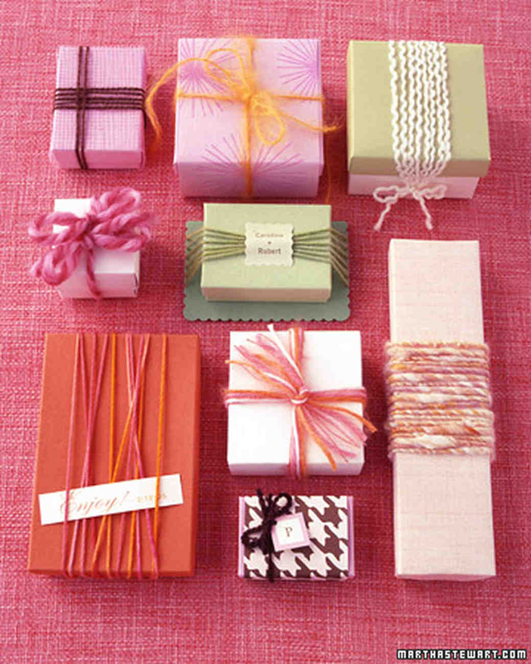 15 Years of Wedding Favors | Martha Stewart Weddings