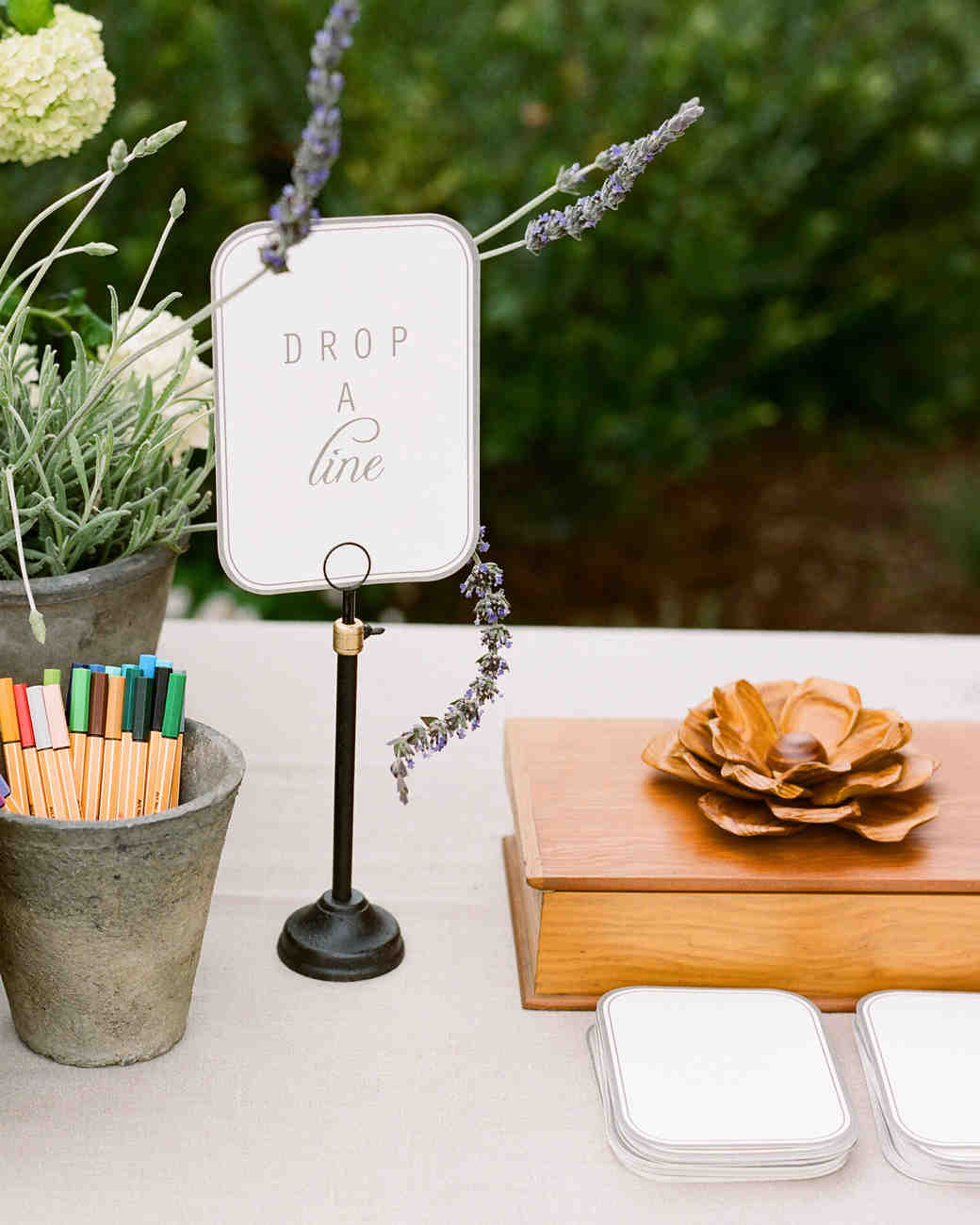 Unique Wedding Guest Book Ideas That Arent Actually Books Martha