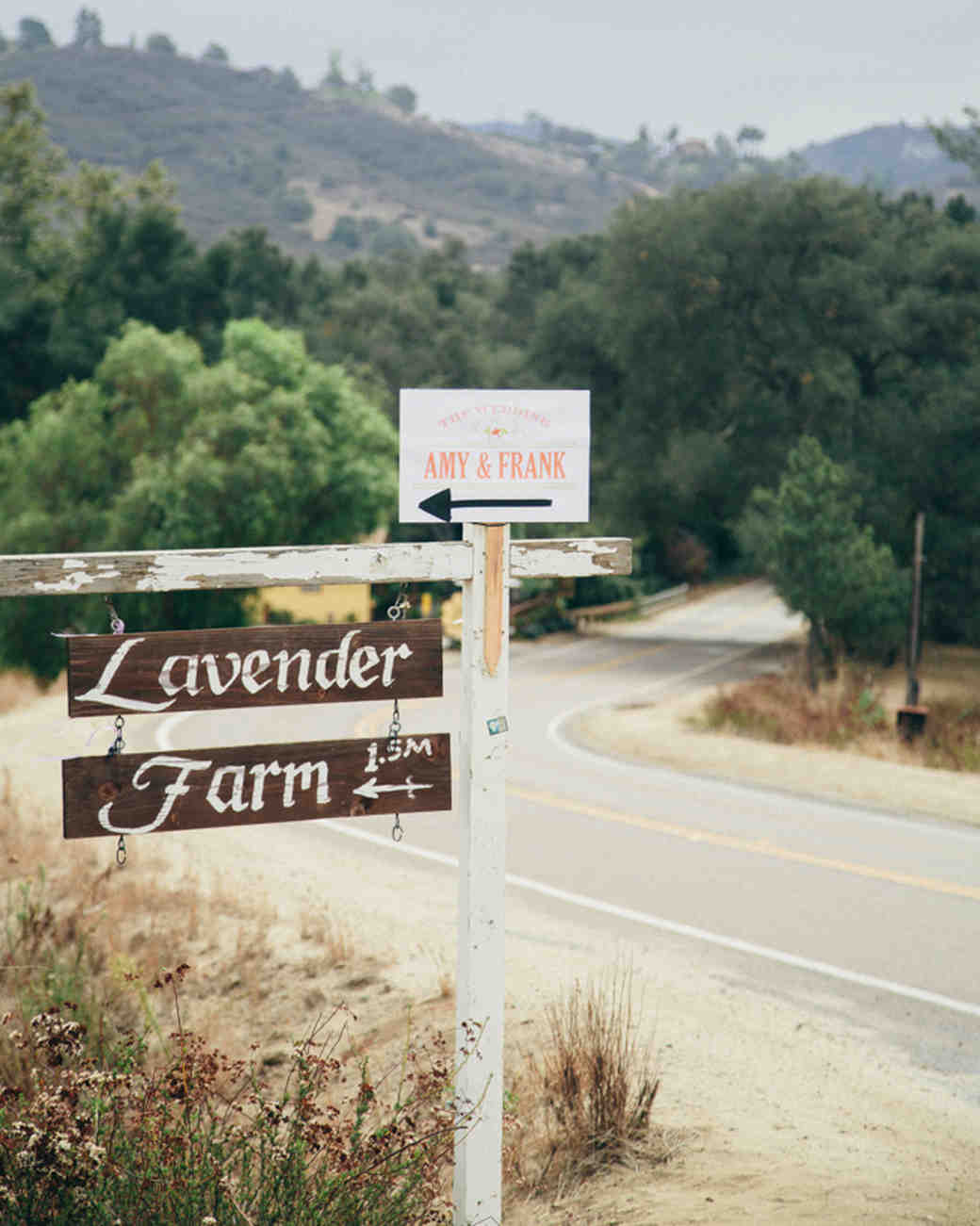 lavender farm sign