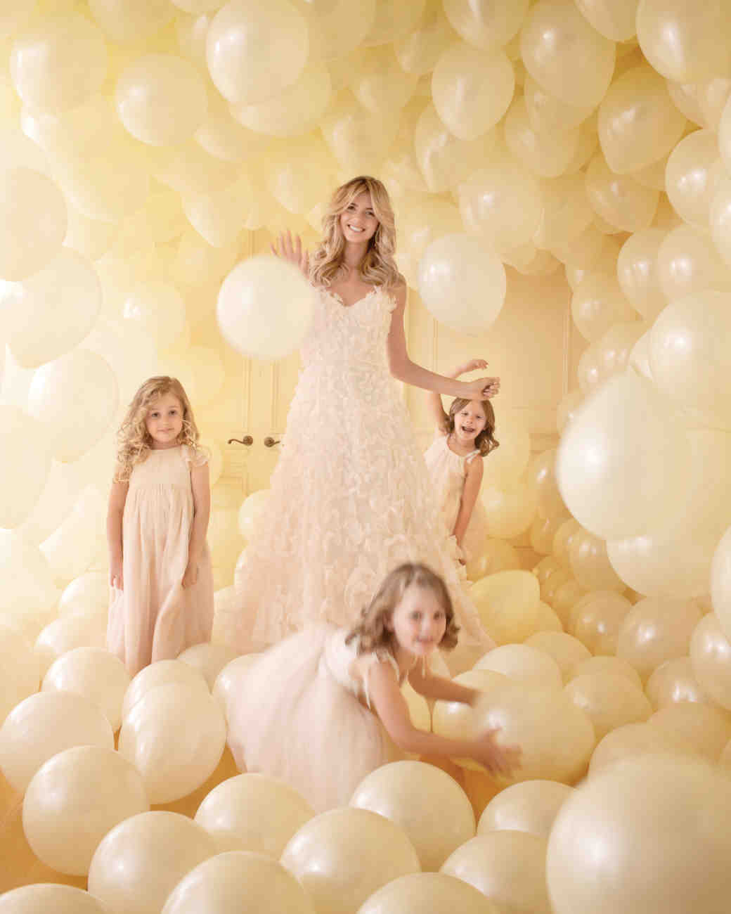 DIY Balloon Wedding Decor | Martha Stewart Weddings