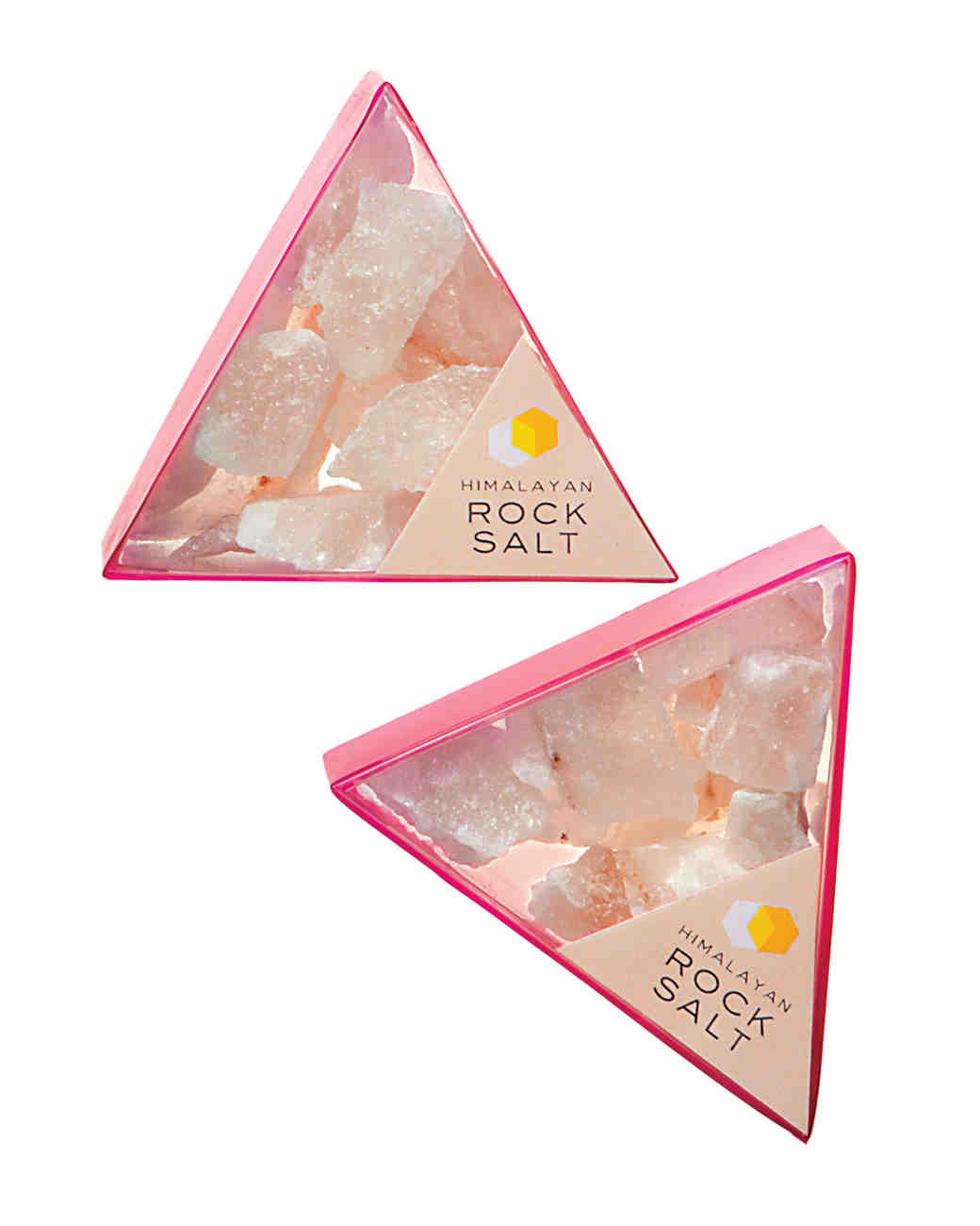 Pink Salt Favors