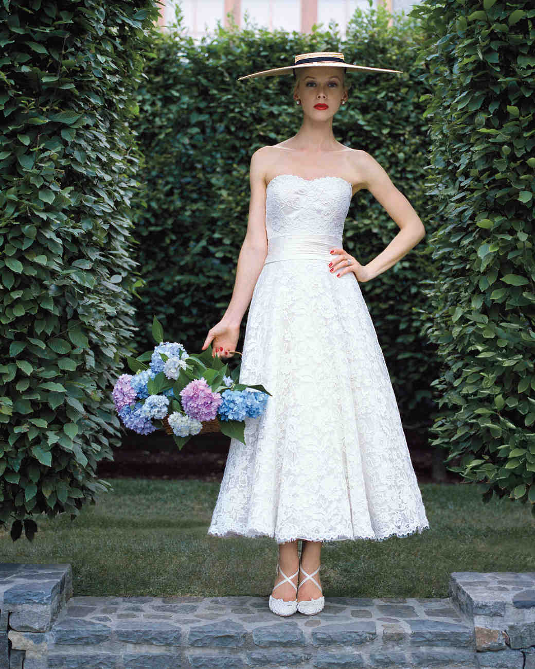 Edgy Tea Length Wedding Dresses