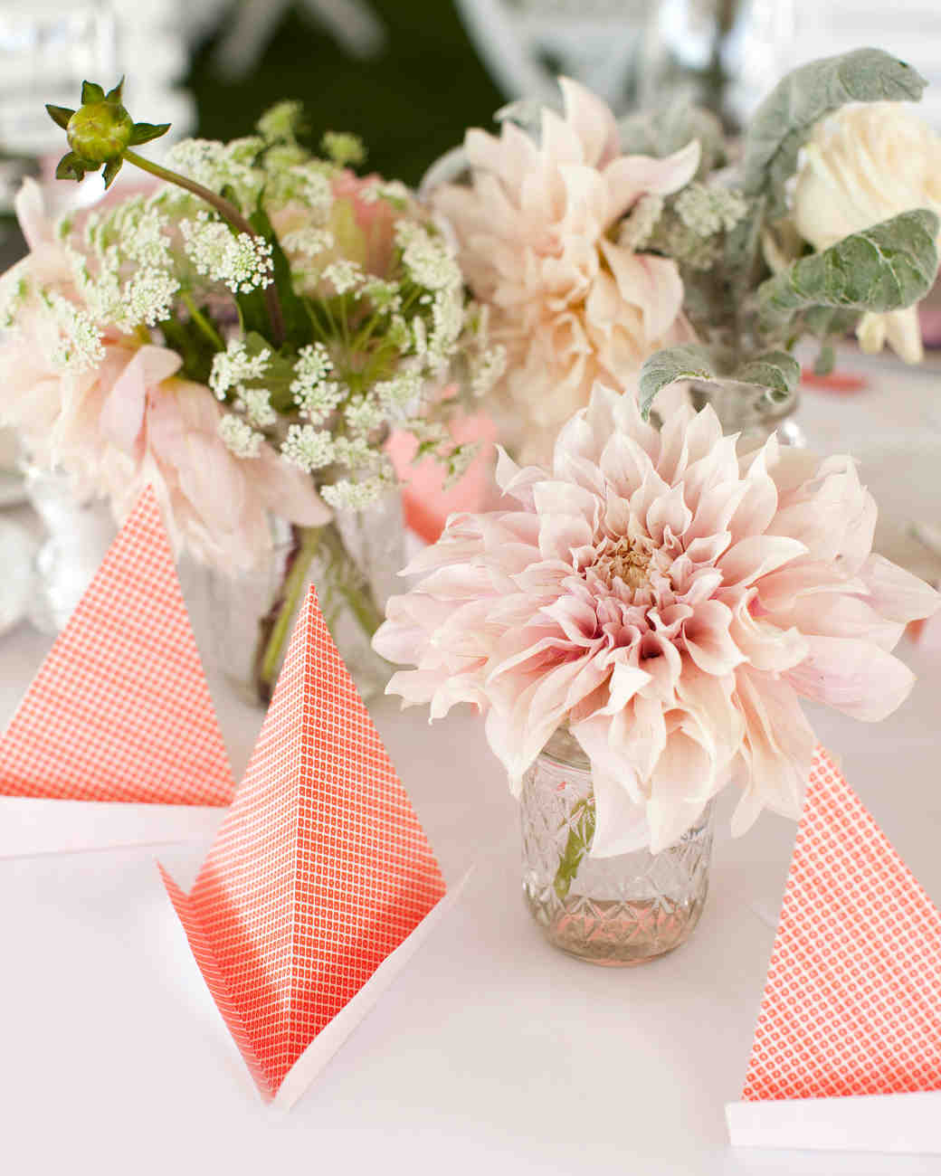 39 simple wedding centerpieces martha stewart weddings junglespirit Choice Image