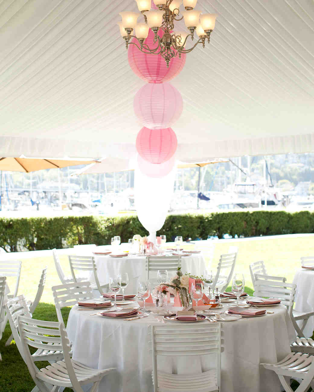 A Pink Ombre Destination Wedding in Seattle, Washington | Martha ...