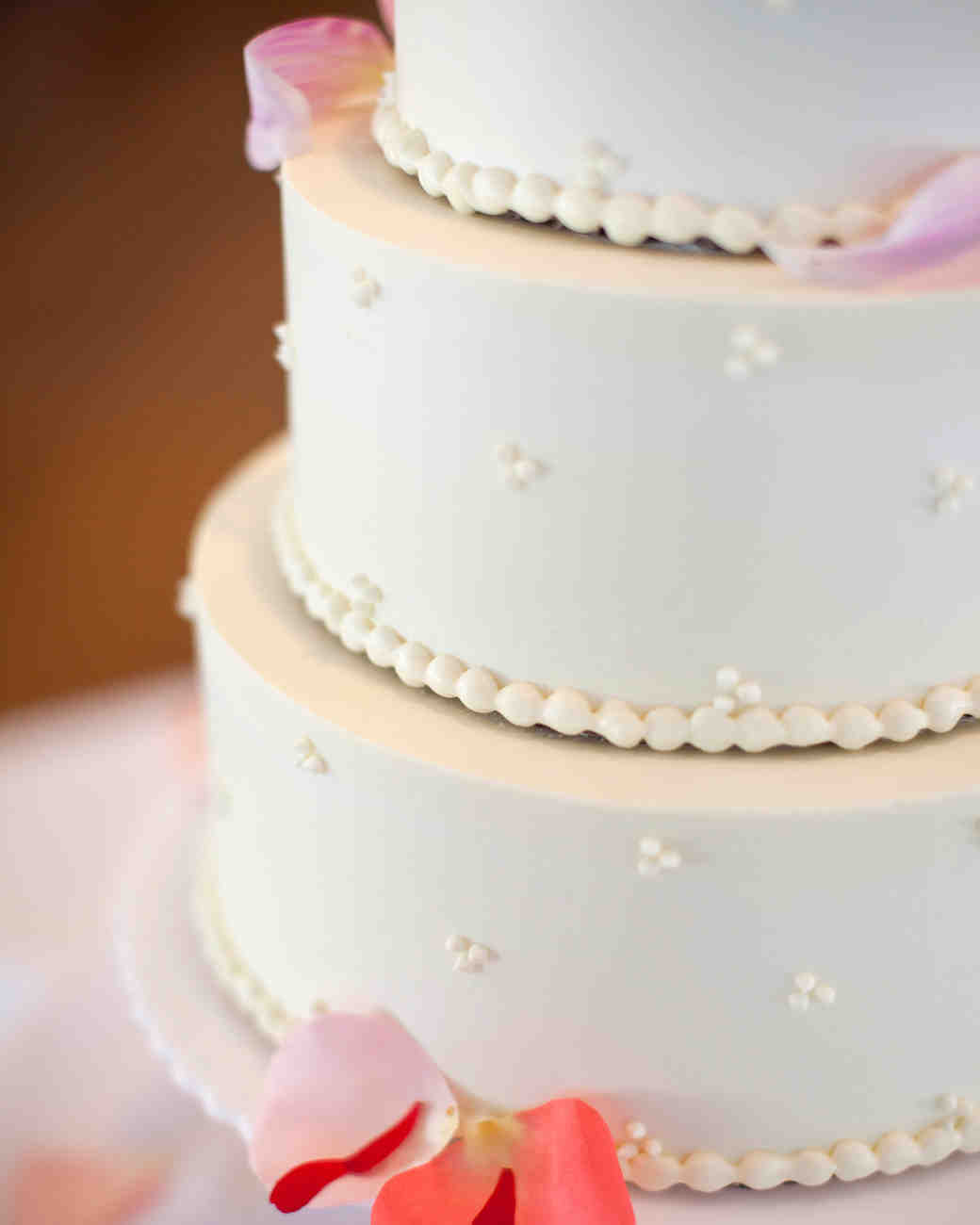 Buttercream Cakes From Real Weddings Martha Stewart Weddings - Frosted Wedding Cakes
