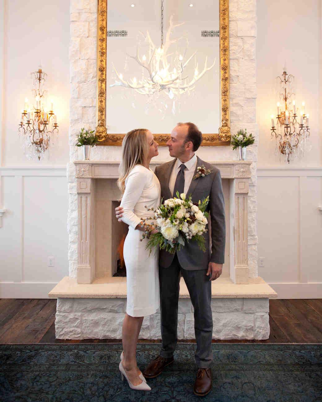 An Intimate Winter Destination Wedding In Park City, Utah