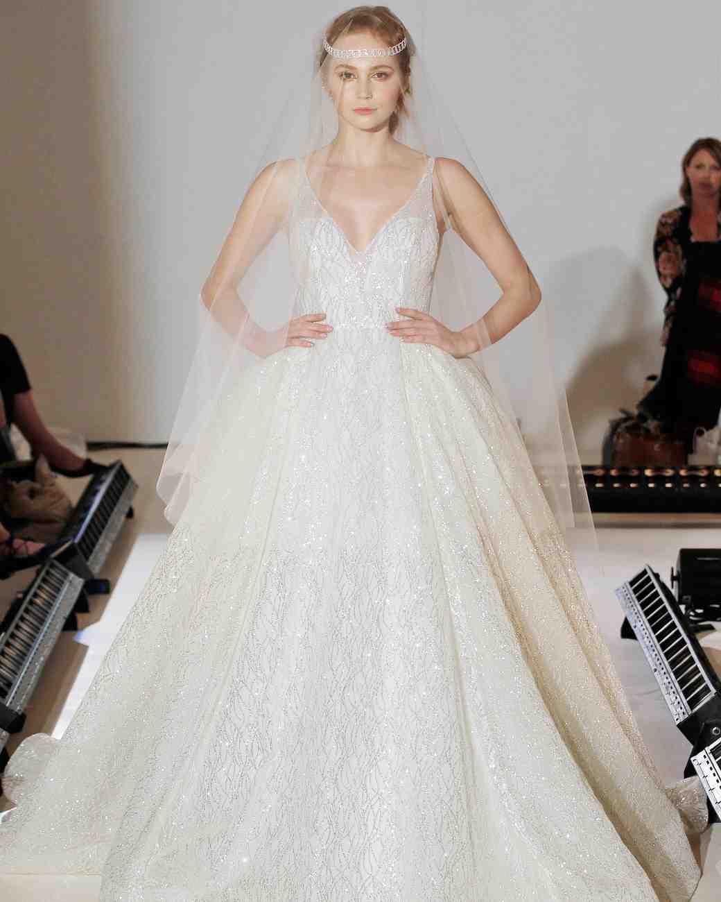 Lazaro Spring 2017 Wedding Dress Collection | Martha Stewart Weddings