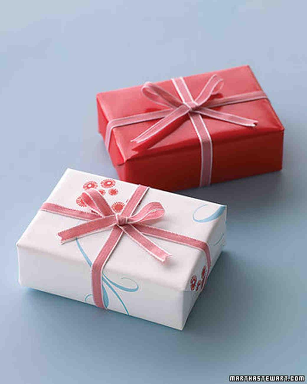 Boxed Wedding Favors Martha Stewart