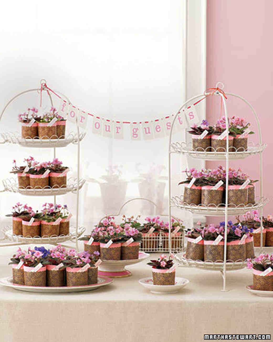 Favor Display Ideas | Martha Stewart Weddings