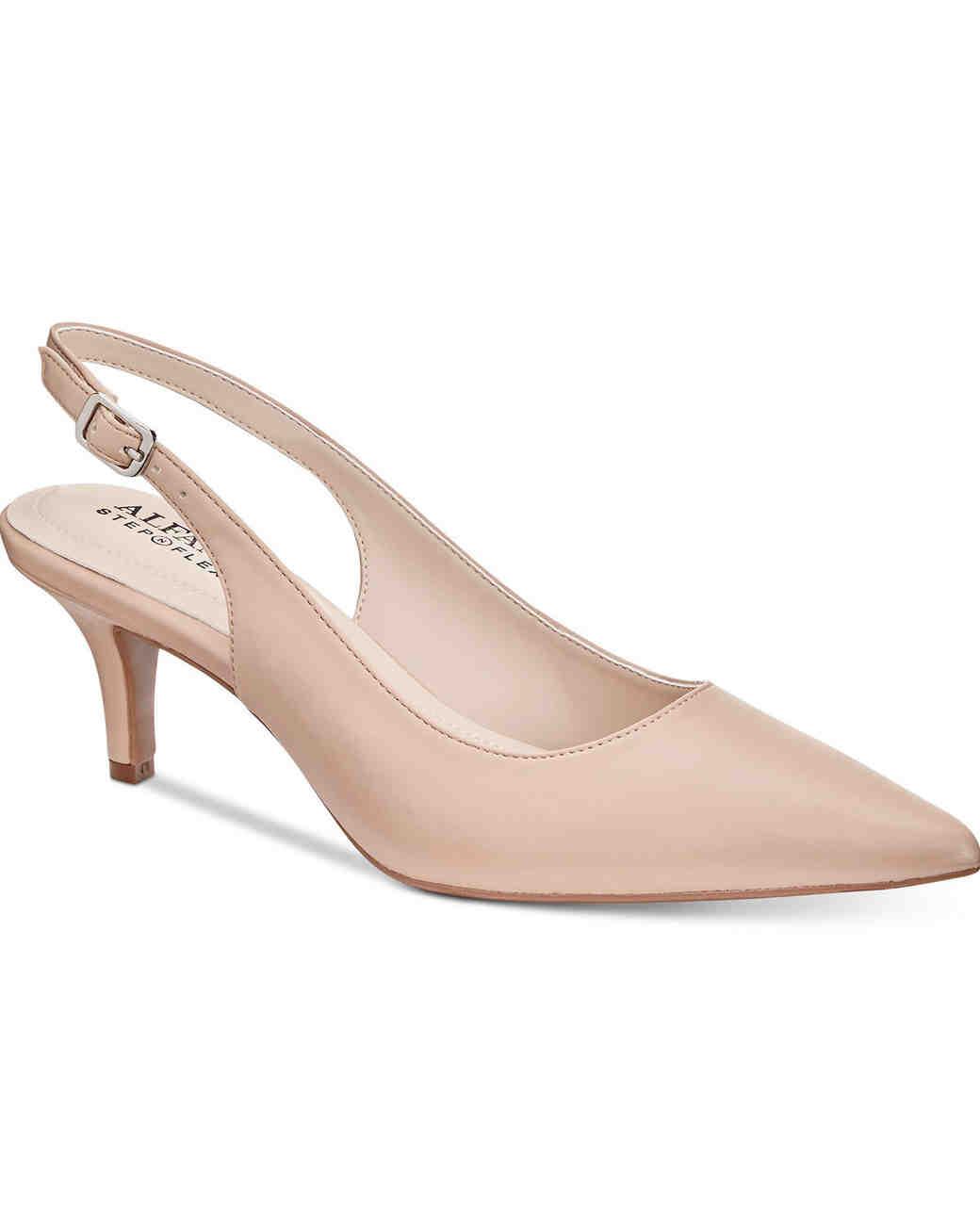 nude shoe crystal embellished suede mules