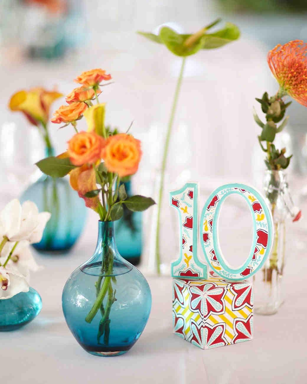 A Vibrant DIY Wedding Outdoors in Florida | Martha Stewart Weddings