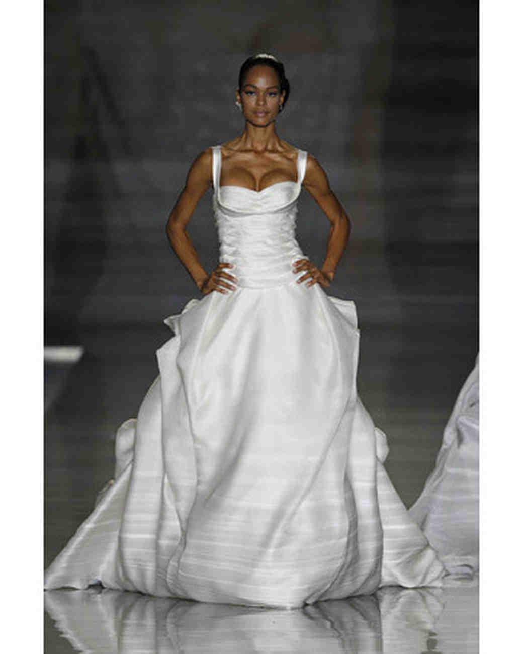 Manuel Mota Costura, Fall 2010 Collection | Martha Stewart Weddings
