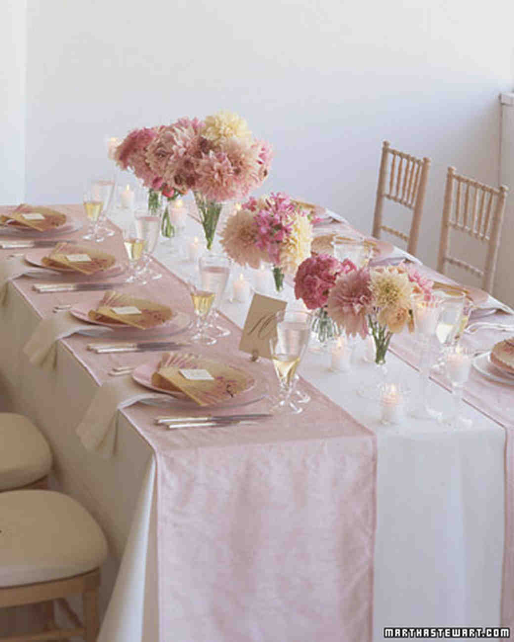 Spring Wedding Themes Pretty Pastels Martha Stewart Weddings