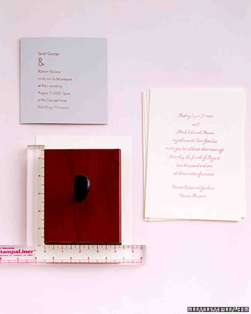 Easy Ways to Upgrade Your Wedding Invitations | Martha Stewart Weddings