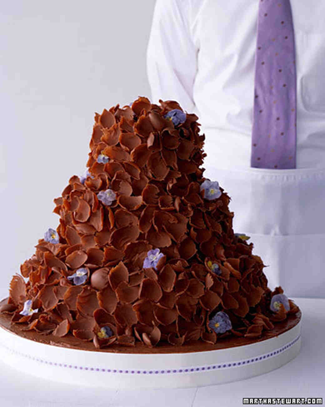 how to make a chocolate wedding cake chocolate cakes chocolate petal cake 15798