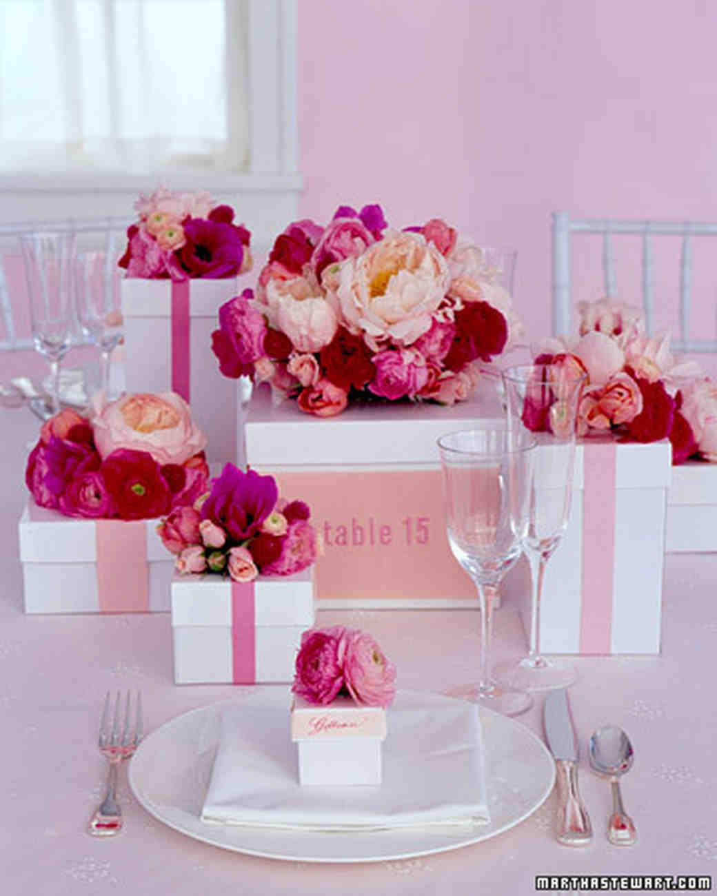 Wedding Centerpieces That Double As Favors Martha Stewart Weddings