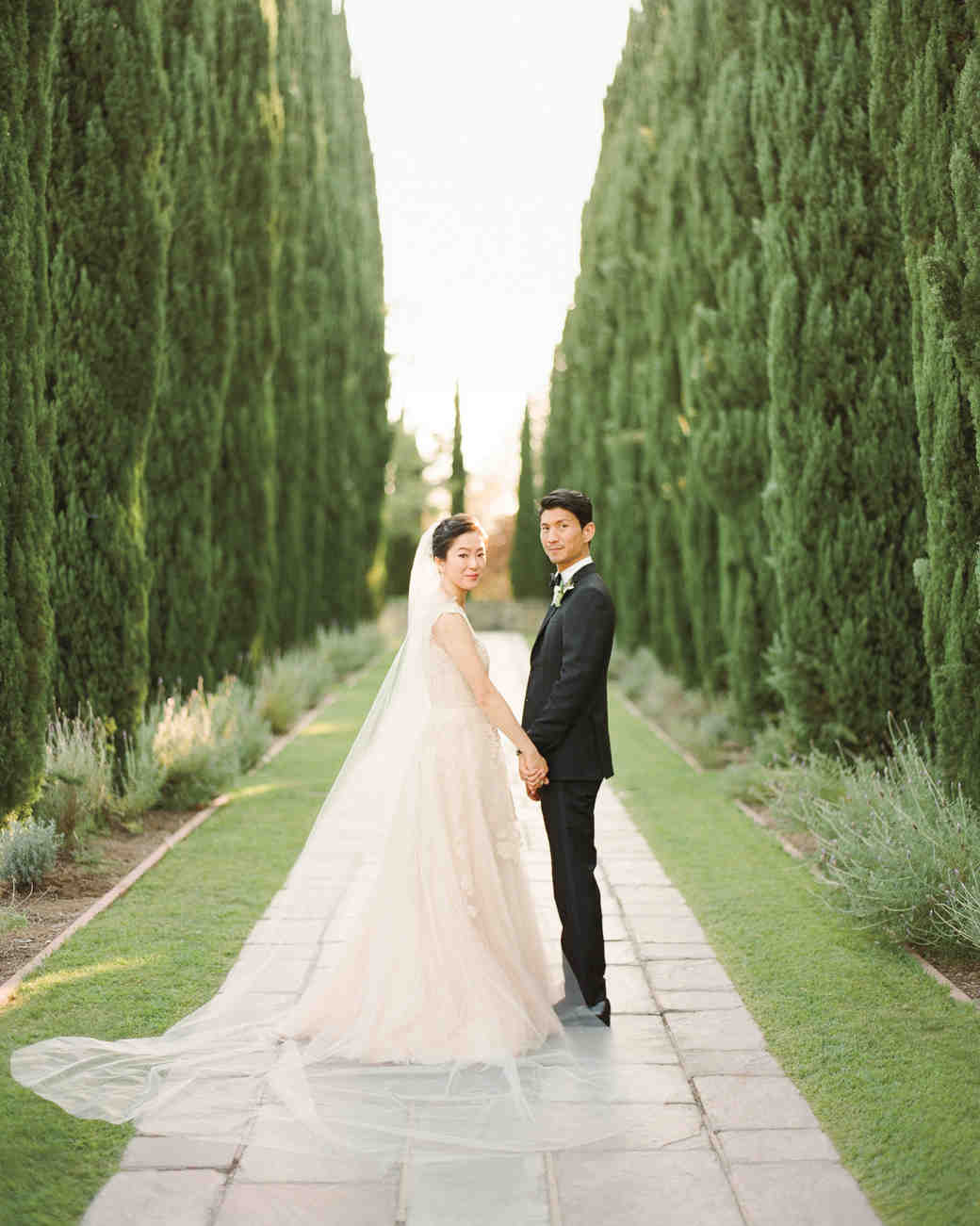 Annie and Tad\'s Elegant Beverly Hills Wedding | Martha Stewart Weddings