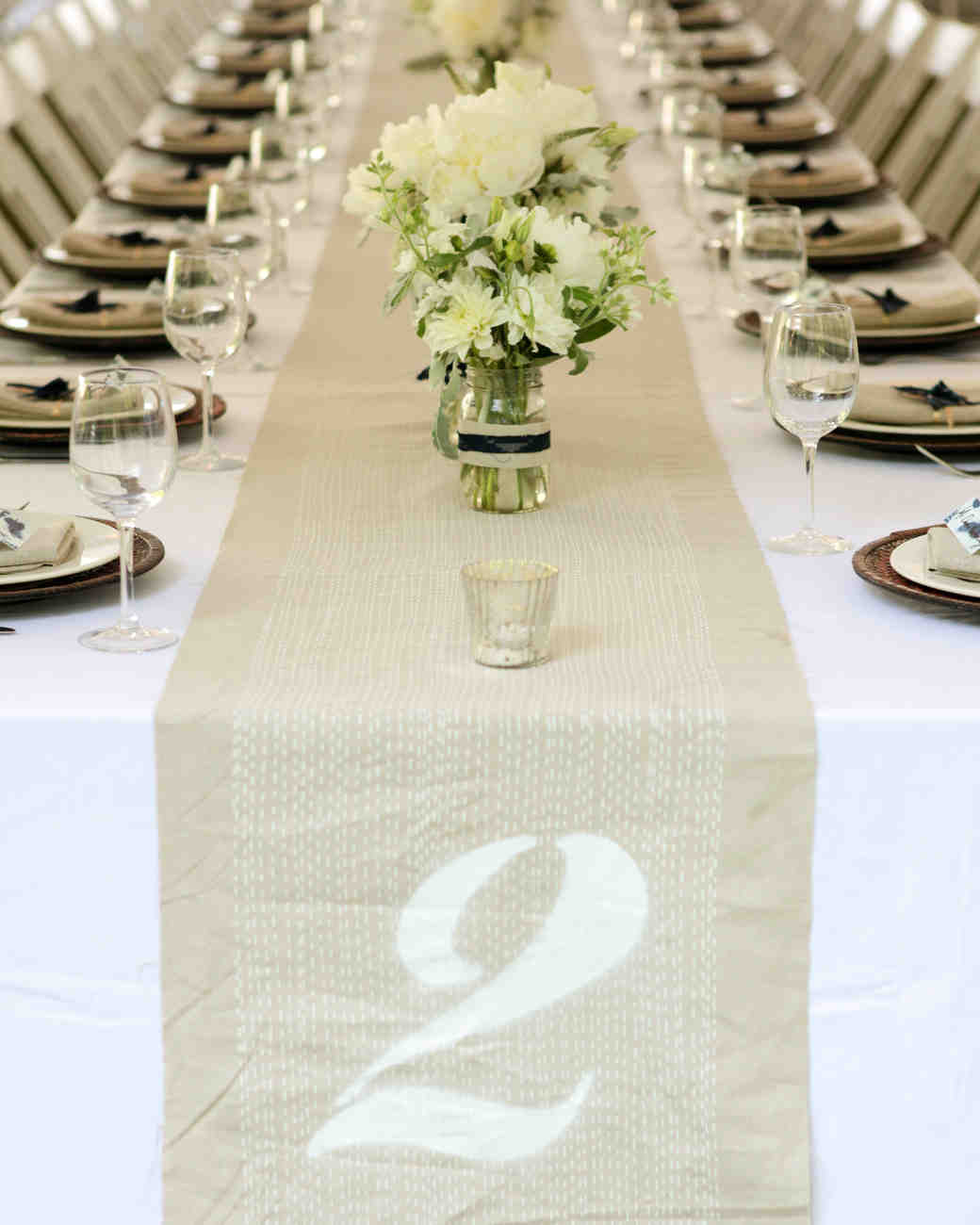Unique Wedding Table Numbers | Martha Stewart Weddings
