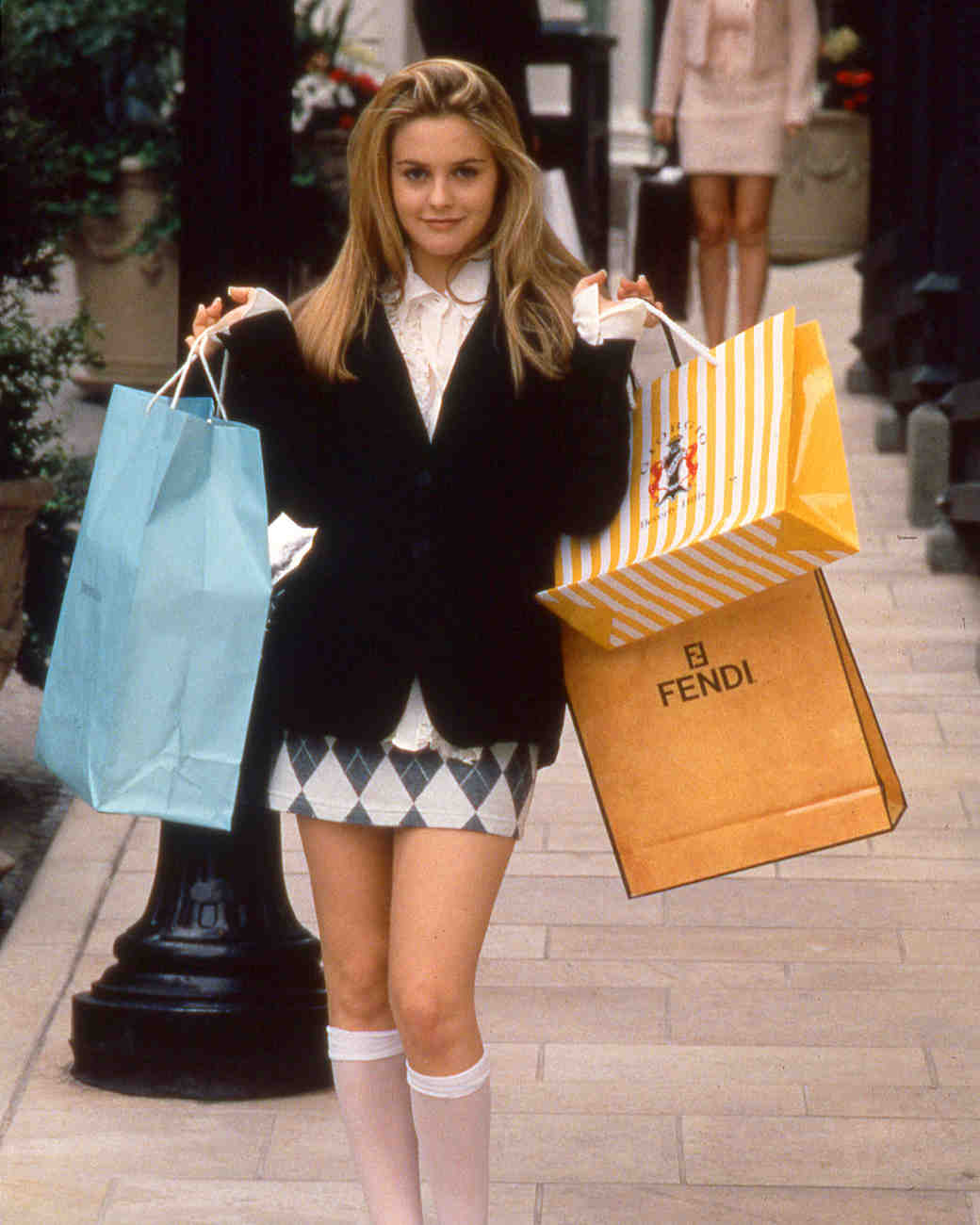 Clueless Cher shopping