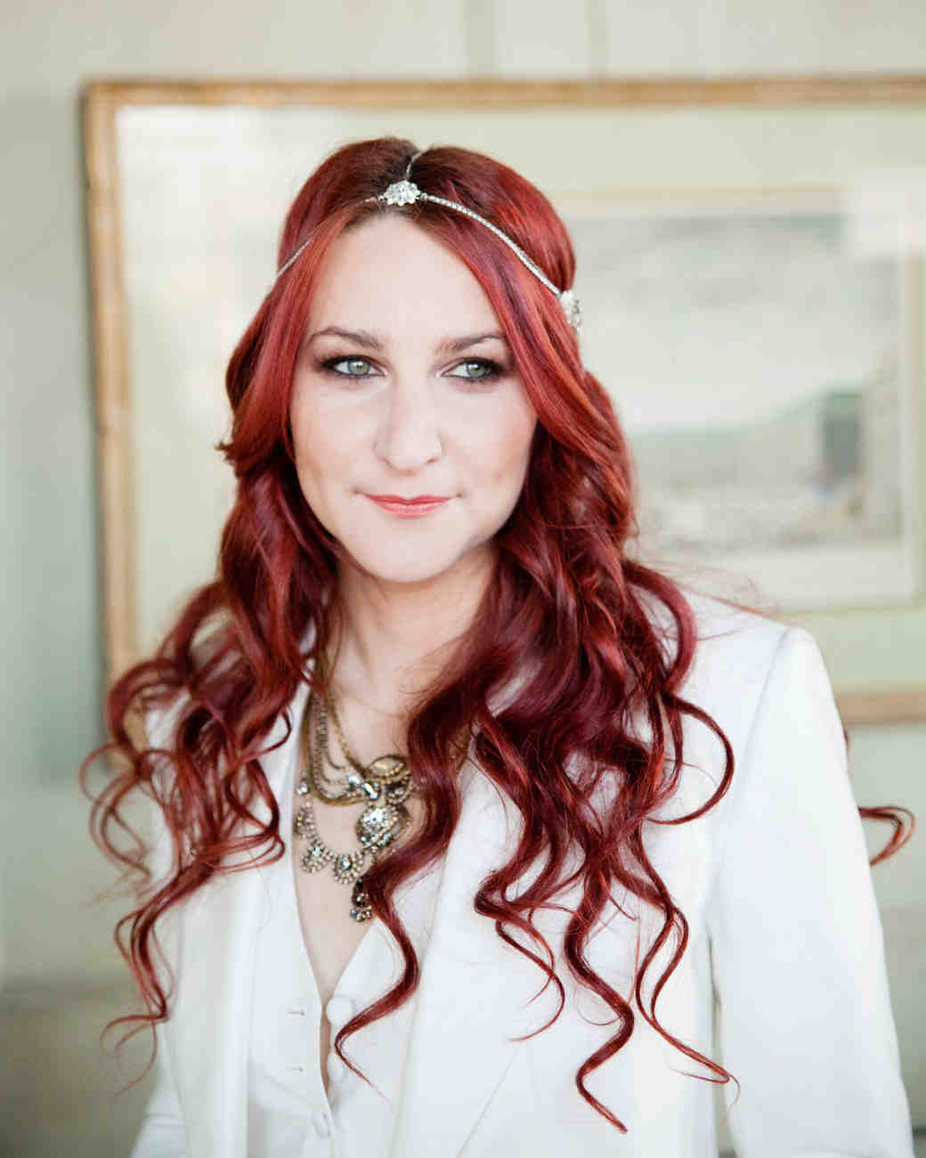 33 Ways to Wear Your Hair Down for Your Wedding | Martha Stewart ...