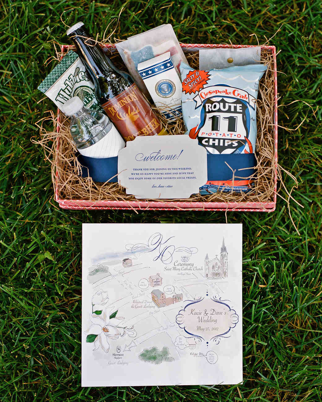 patriotic welcome box