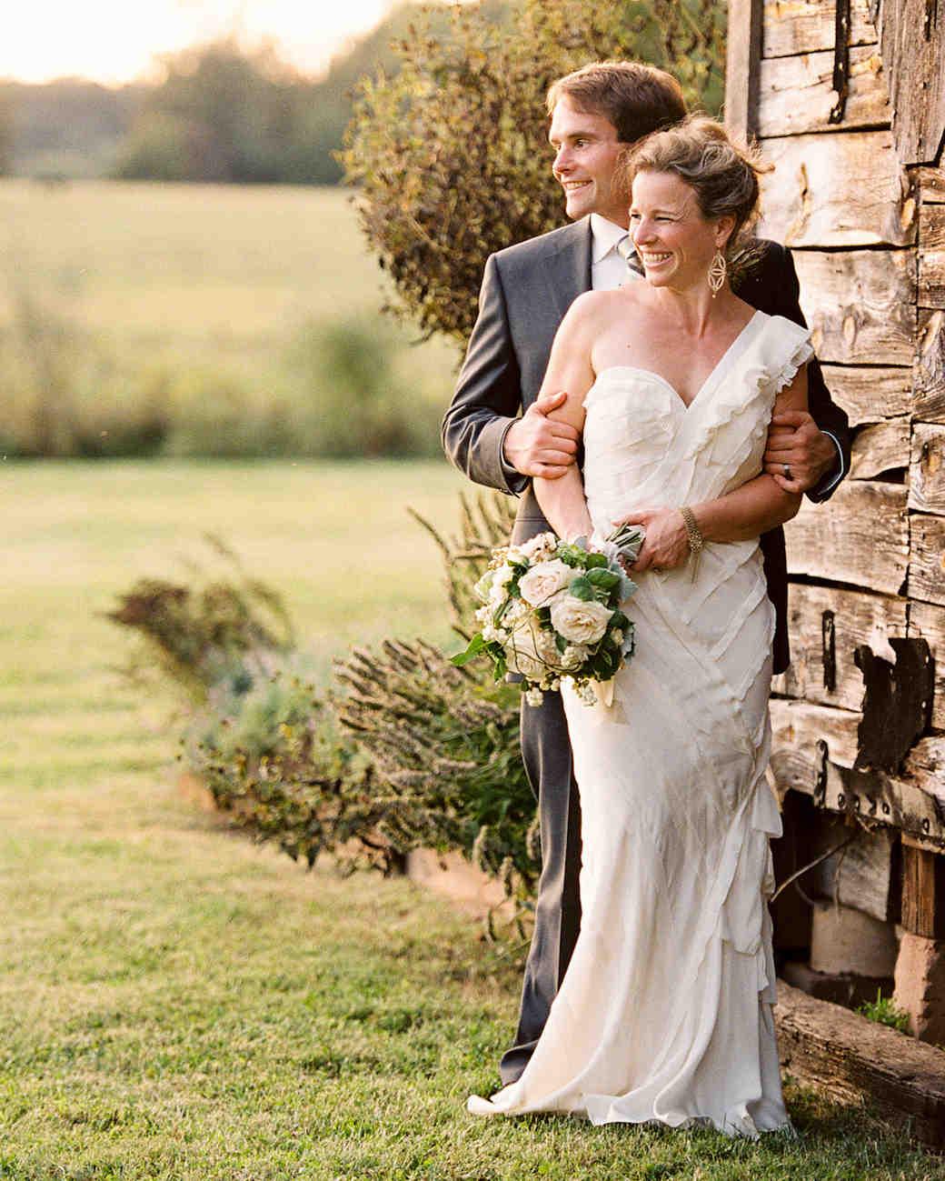 Martha Stewart Weddings: A Vintage DIY Wedding On A Farm In Virginia