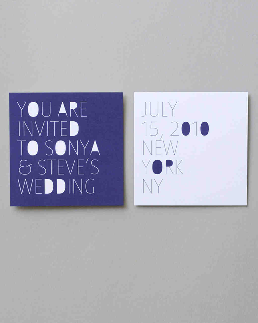 purple-and-white save-the-date