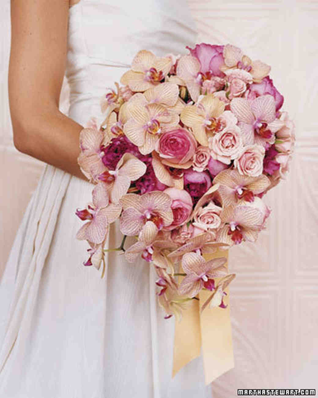 Orchid Bouquets | Martha Stewart Weddings