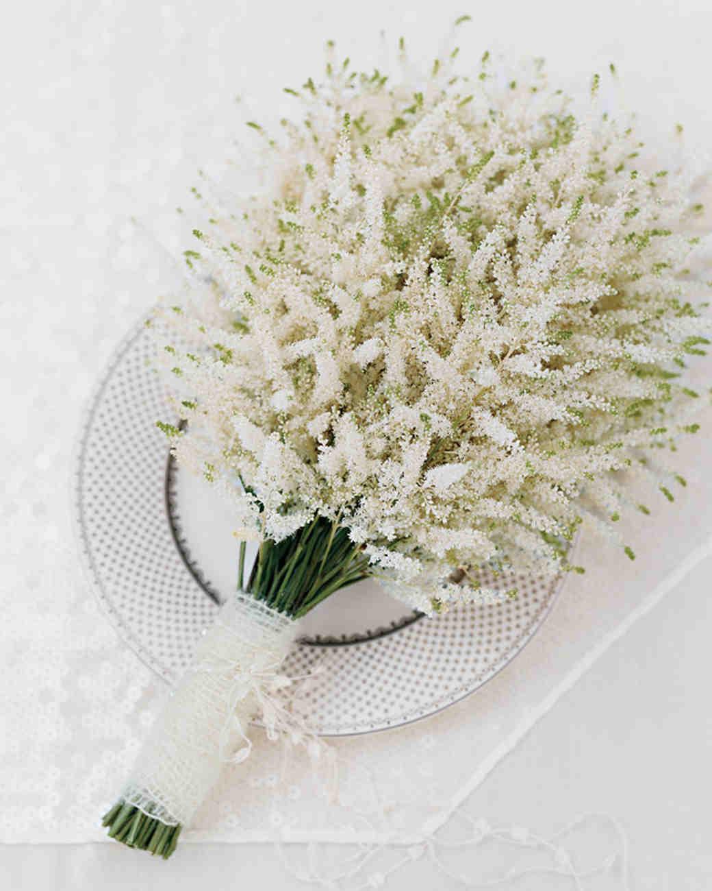 Blushing Blooms Martha Stewart Weddings