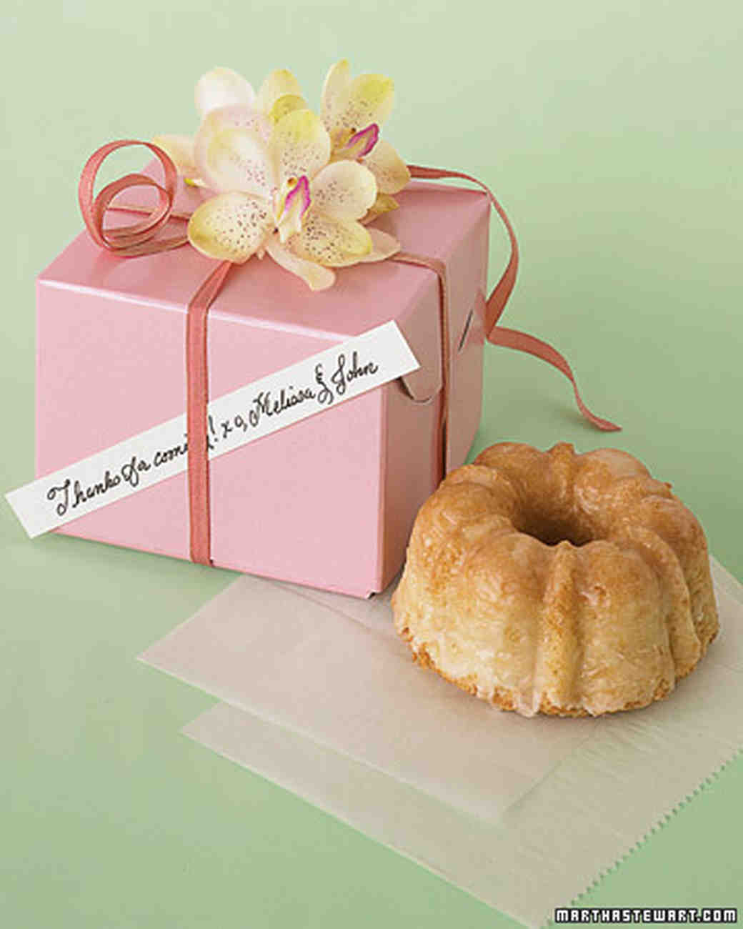 Wedding Favor Recipes | Martha Stewart Weddings