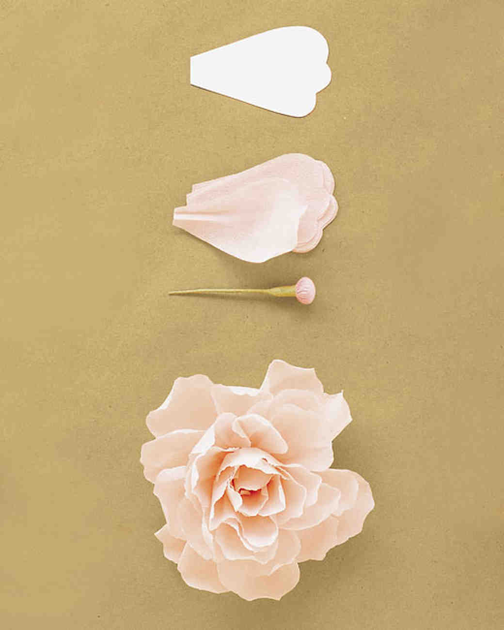 How to make crepe paper flowers martha stewart weddings peony dhlflorist Images