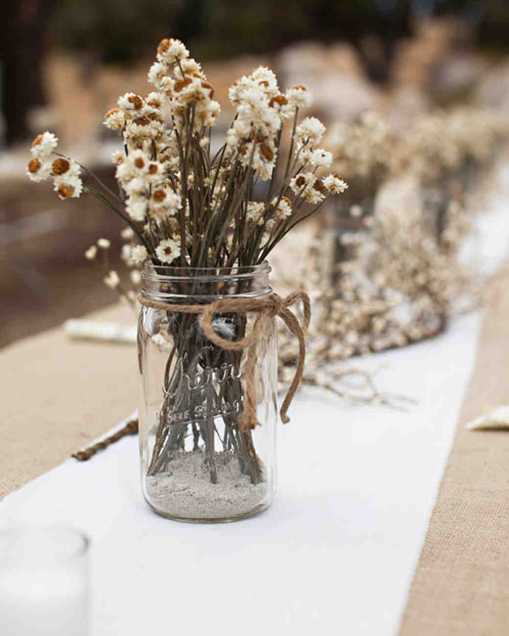 24 Dried Flower Arrangements That Are Perfect For A Fall Wedding Martha Weddings