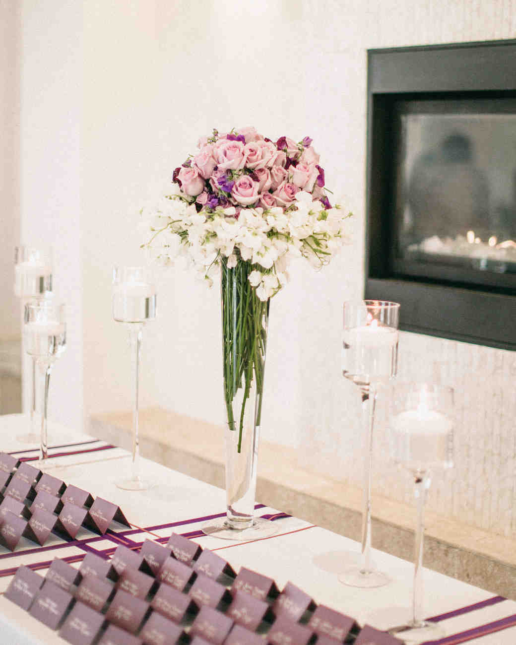 Real Weddings with Purple Ideas | Martha Stewart Weddings