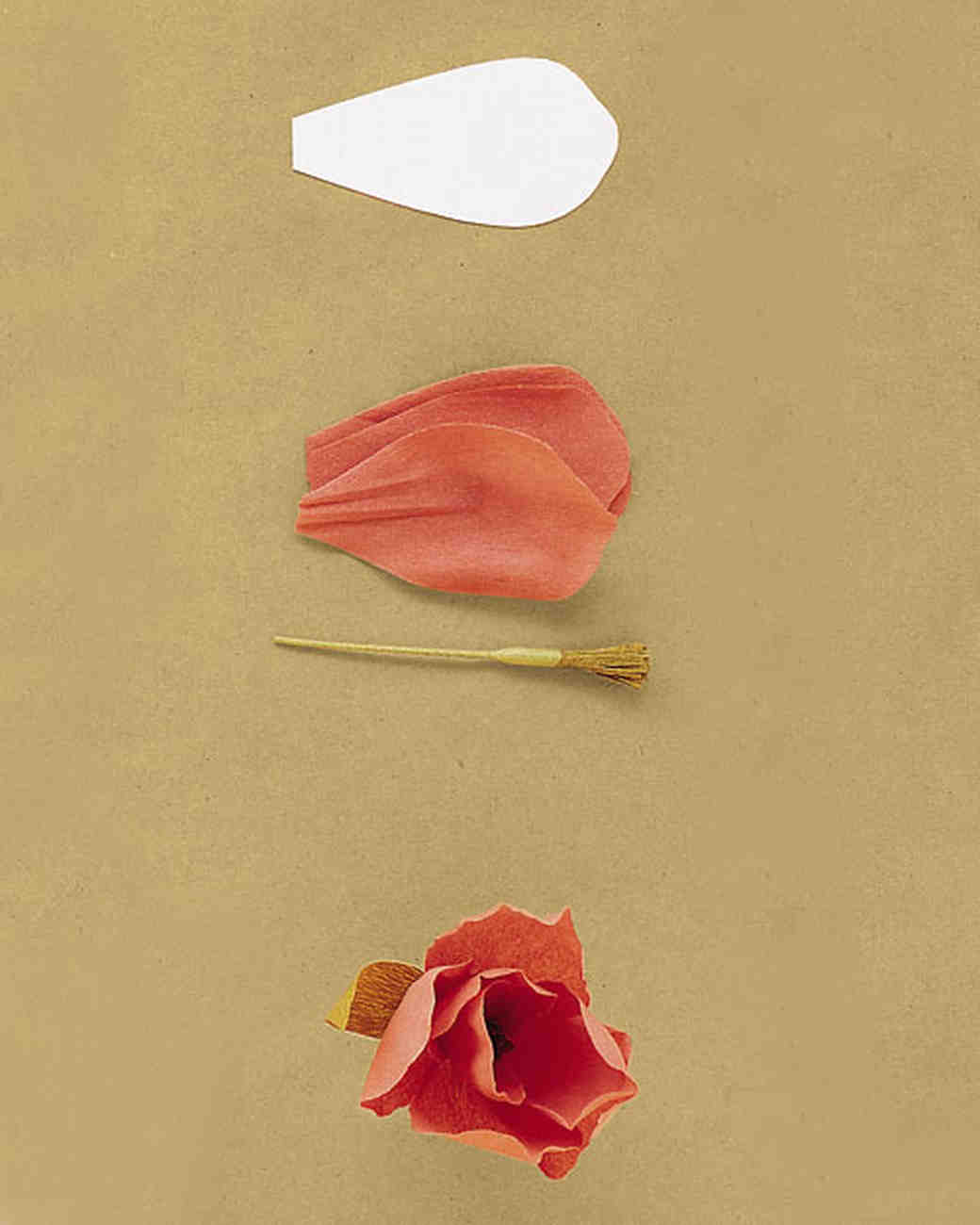 How to make crepe paper flowers martha stewart weddings tulip mightylinksfo
