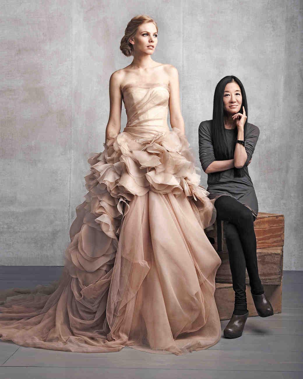 518bec4d046c Iconic Wedding-Dress Designers | Martha Stewart Weddings