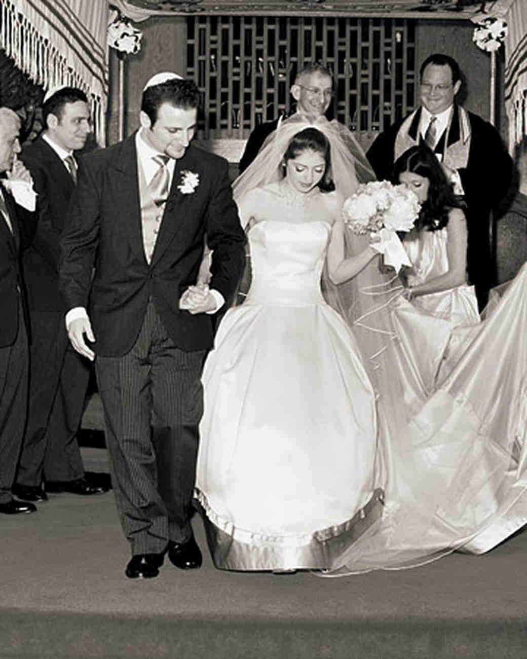 A Retro-Inspired Lavender Formal Wedding in New York | Martha ...